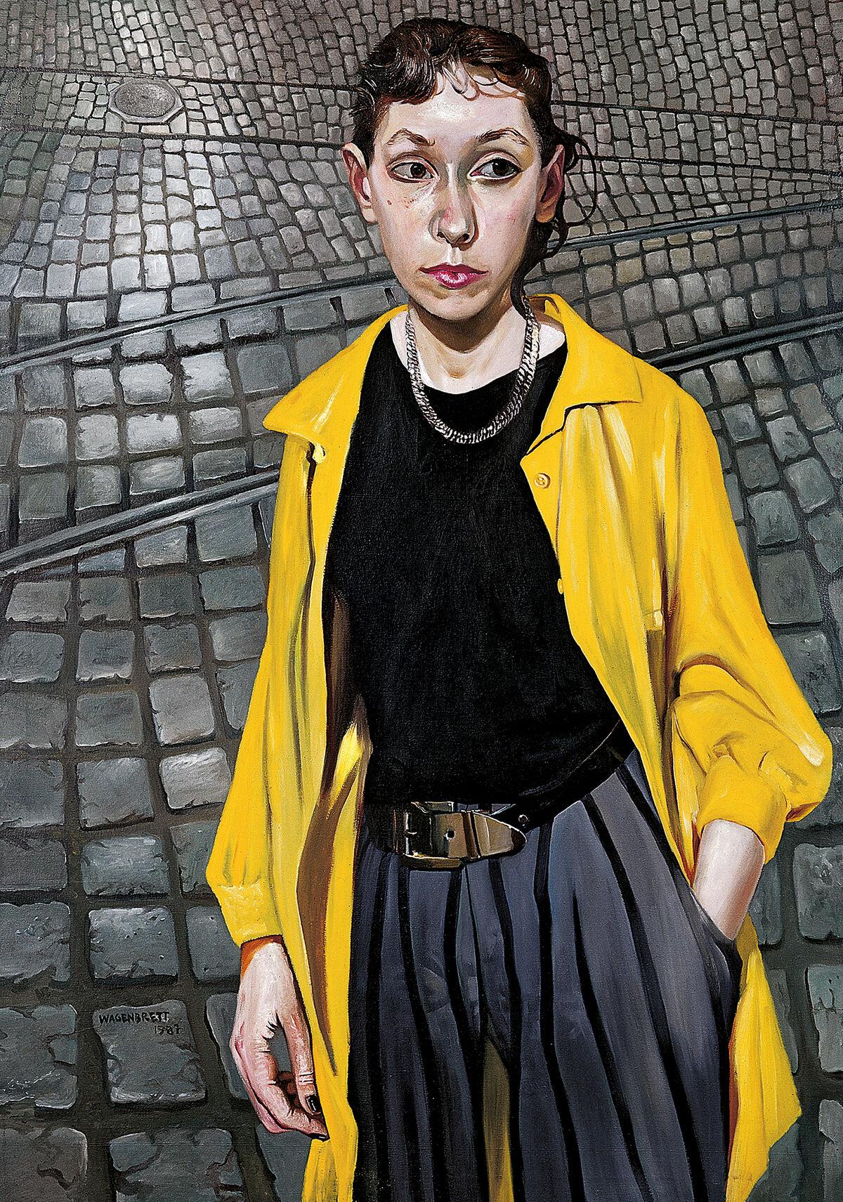 Norbert Wagenbrett, Mädchen auf der Strasse (Girl on the Street), 1987. © VG Bild-Kunst Bonn 2020. Courtesy of the artist.