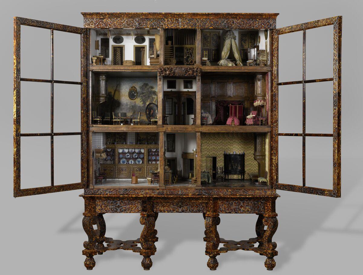 Anonymous, Dolls' house of Petronella Oortman,  c. 1686–1710. Courtesy of Rijksmuseum.