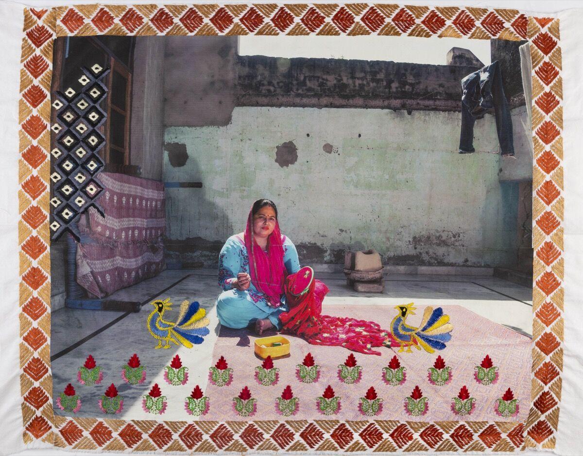 Spandita Malik, Rukmesh Kumari, 2020. © Spandita Malik. Courtesy of the artist and Sarah Hasted, Brooklyn.