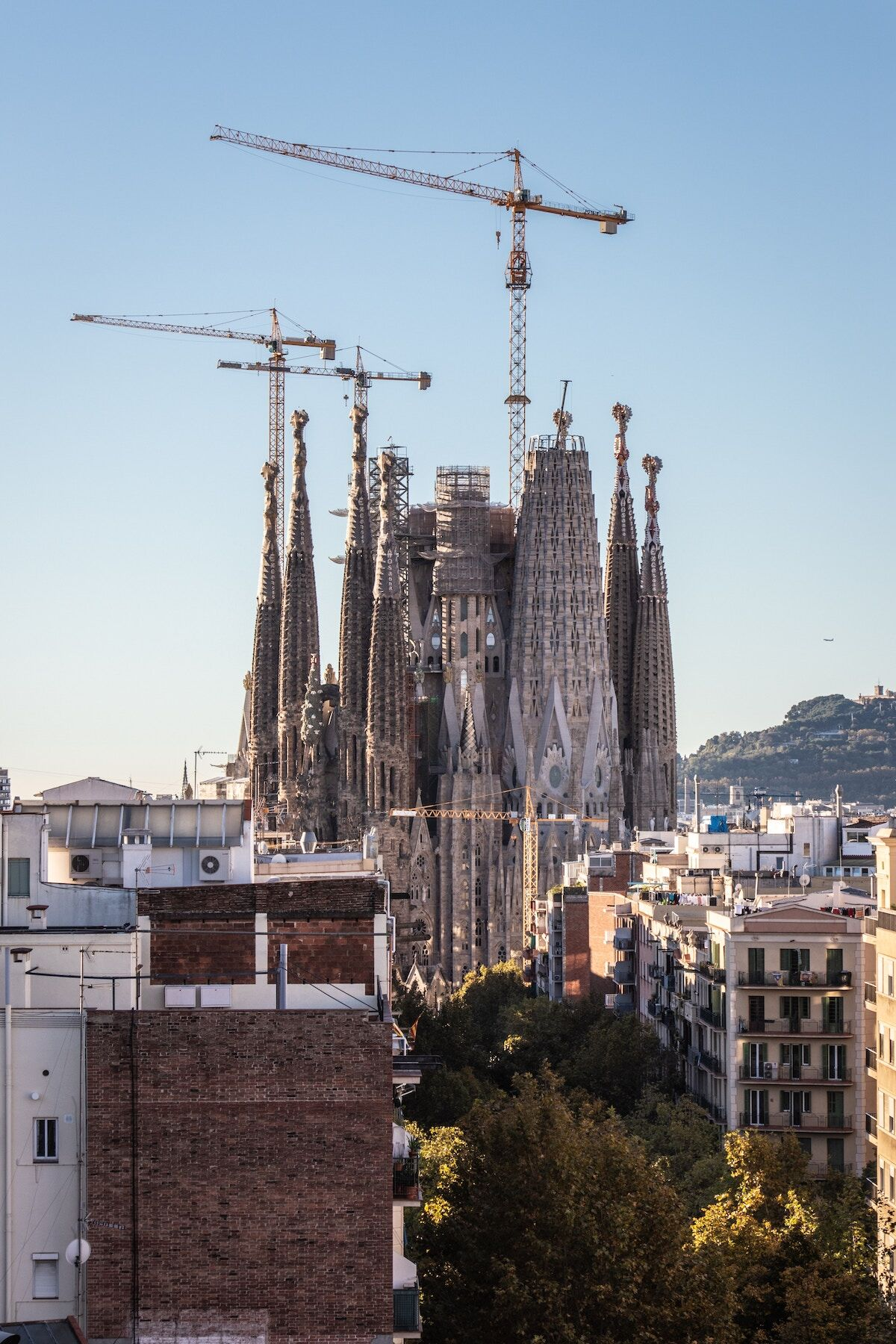 Exterior view of La Sagrada Familia, Barcelona. Photo by Angela Compagnone. Courtesy of Angela Compagnone.