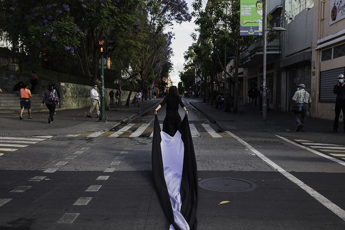 Regina José Galindo, Guatemala Feminicida, 2021. Photo by Jose Oquendo. Courtesy of the artist.