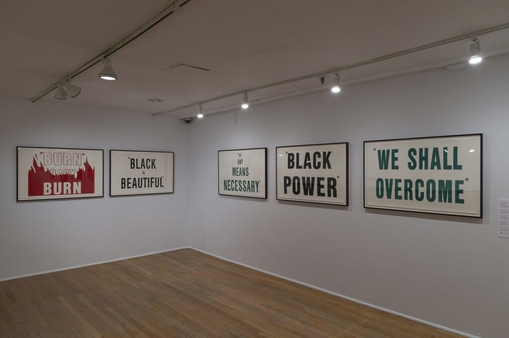 The Window and the Breaking of the Window (installation view). The Studio Museum in Harlem, November 17, 2016–March 5, 2017; Photo: Adam Reich. Courtesy of the Studio Museum in Harlem.