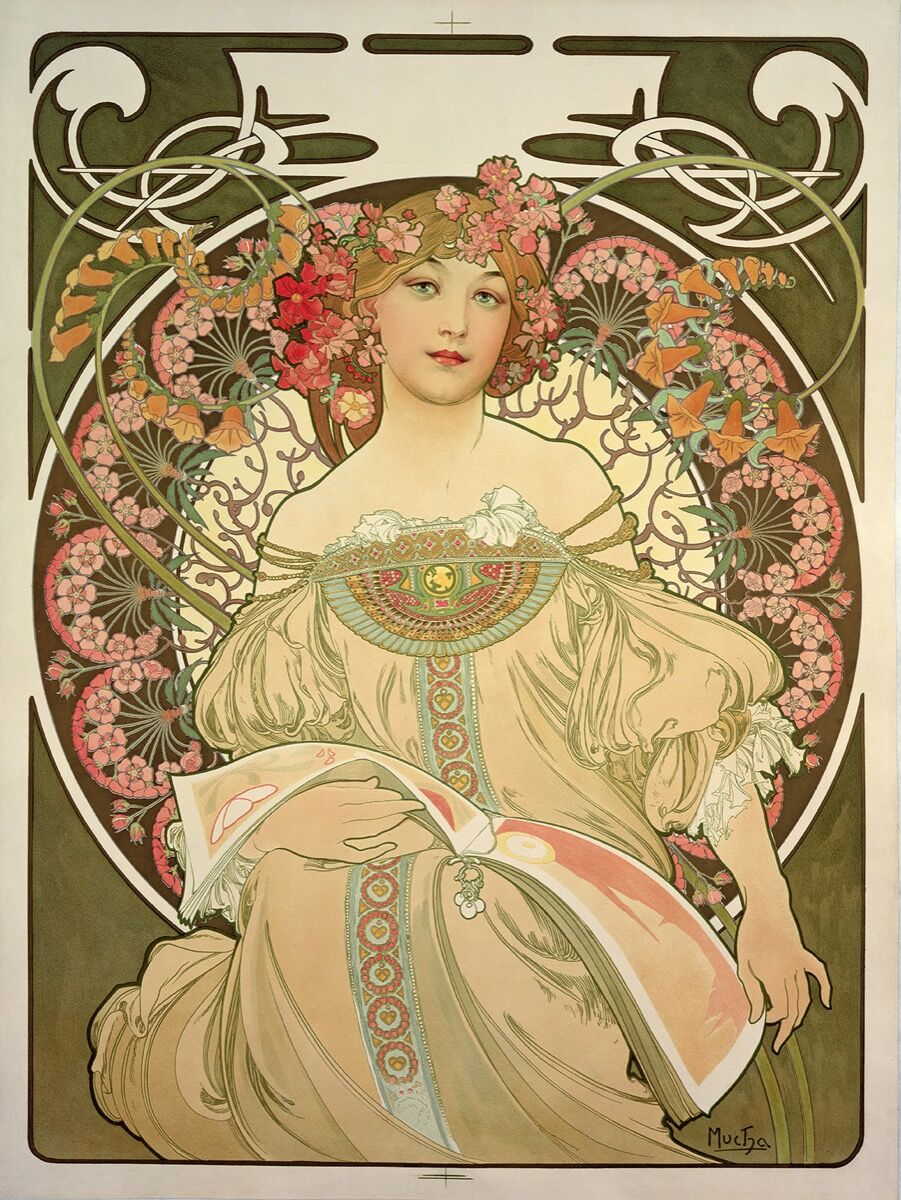 How Alphonse Mucha S Iconic Posters Came To Define Art
