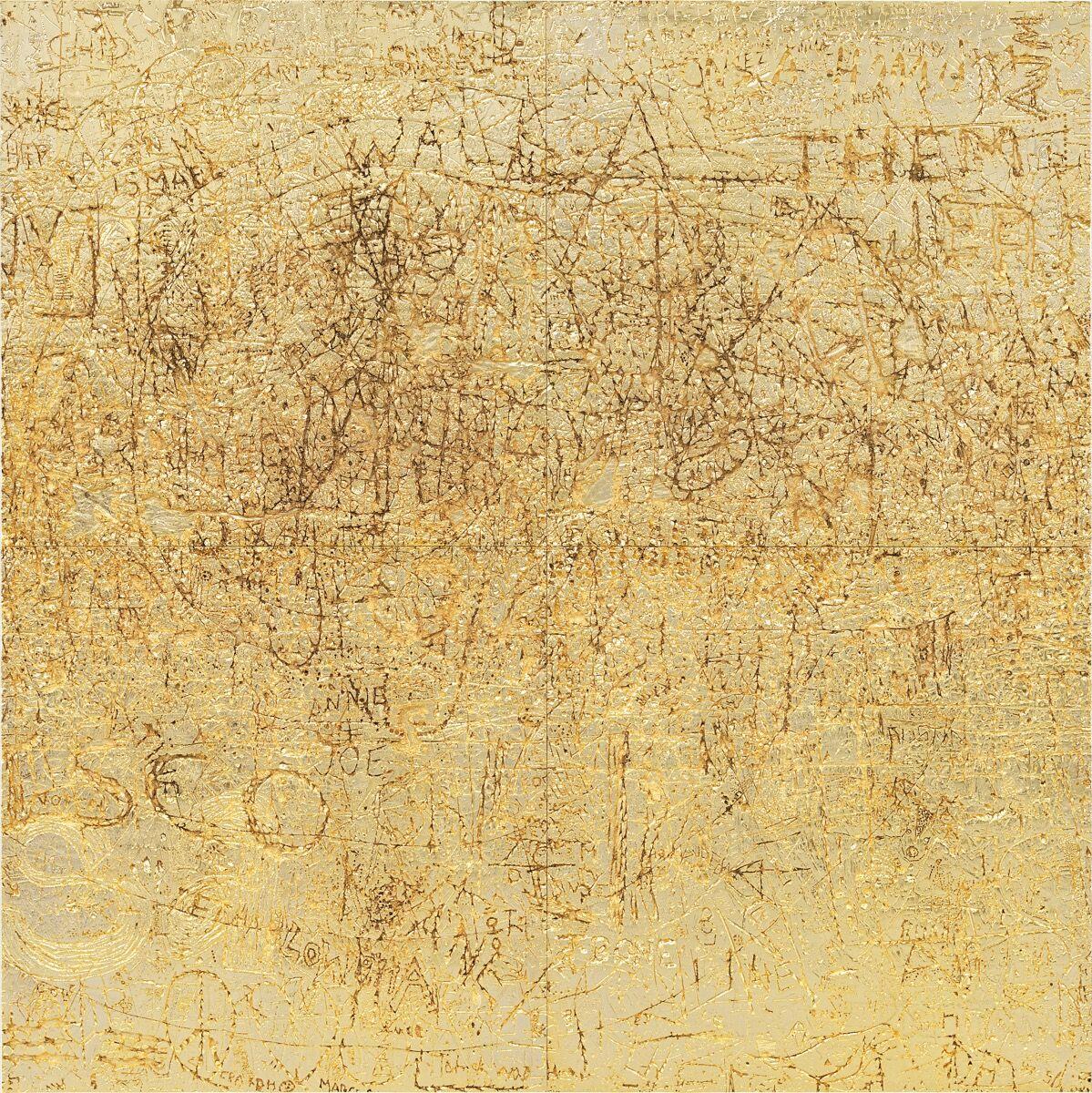 Rudolf Stingel, Untitled, 2012. Courtesy of Phillips / Phillips.com.