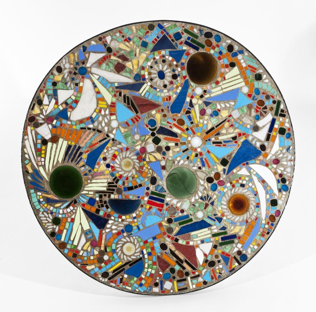 Lee Krasner, Mosaic Table, 1947. © The Pollock-Krasner Foundation. Courtesy of Michael Rosenfeld Gallery LLC, New York.