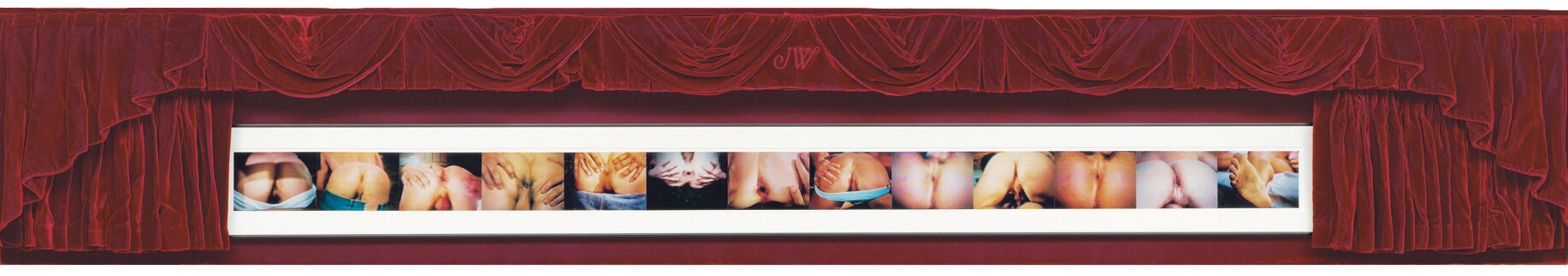 John Waters, Twelve Assholes and a Dirty Foot, 1996. © John Waters. Courtesy of The Baltimore Museum of Art.