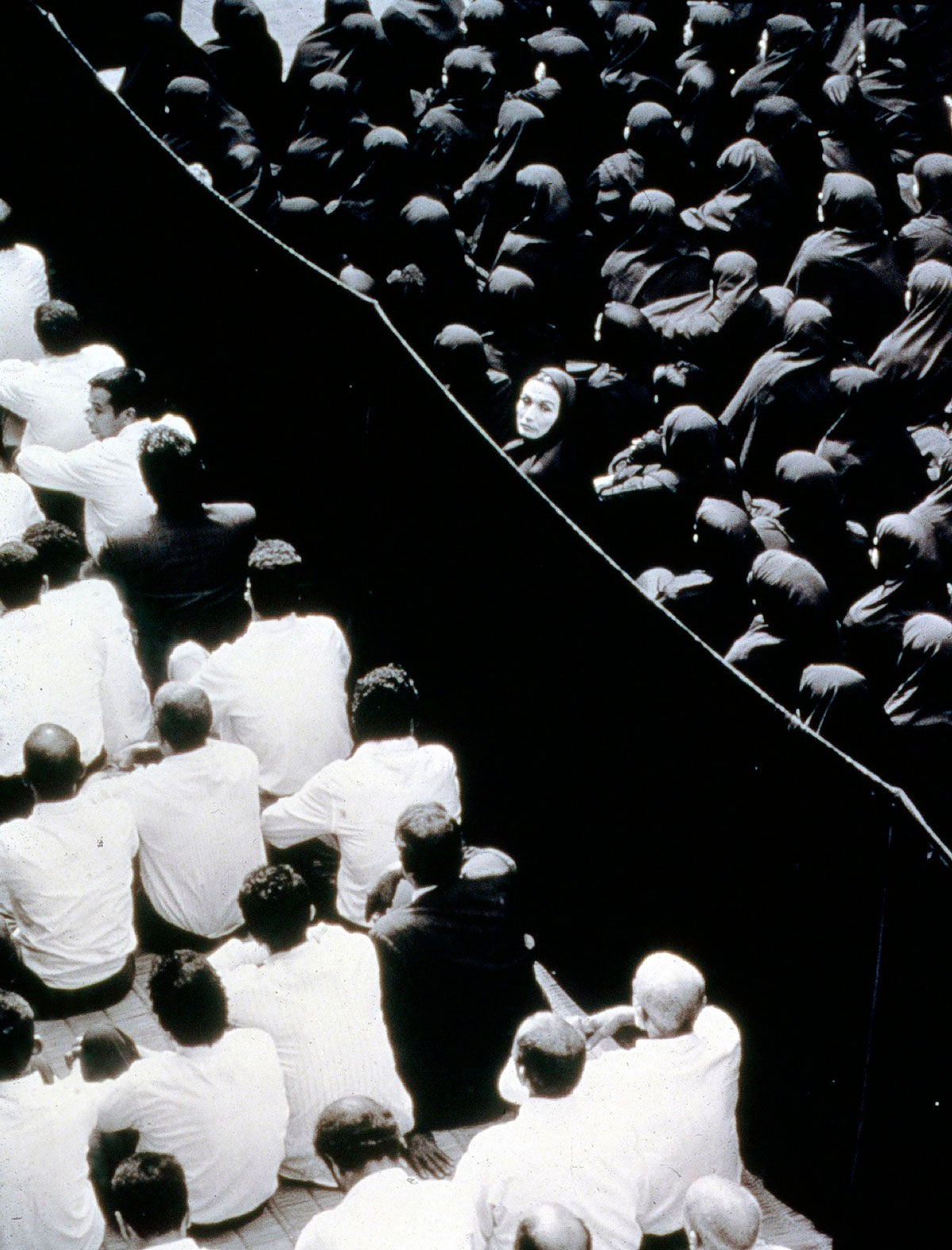 Shirin Neshat, Fervor (film still), 2000. Photo by Larry Barns. © Shirin Neshat. Courtesy of the artist and Gladstone Gallery, New York and Brussels.
