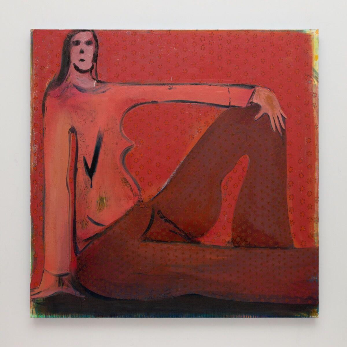 Heidi Hahn, Folded Venus / Pomaded Sweater #5, 2020. Courtesy of the artist and Nathalie Karg Gallery.