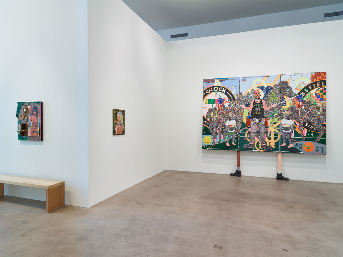 "Installation view of ""The New New"" at Diane Rosenstein, Los Angeles. Courtesy Diane Rosenstein and the artists."