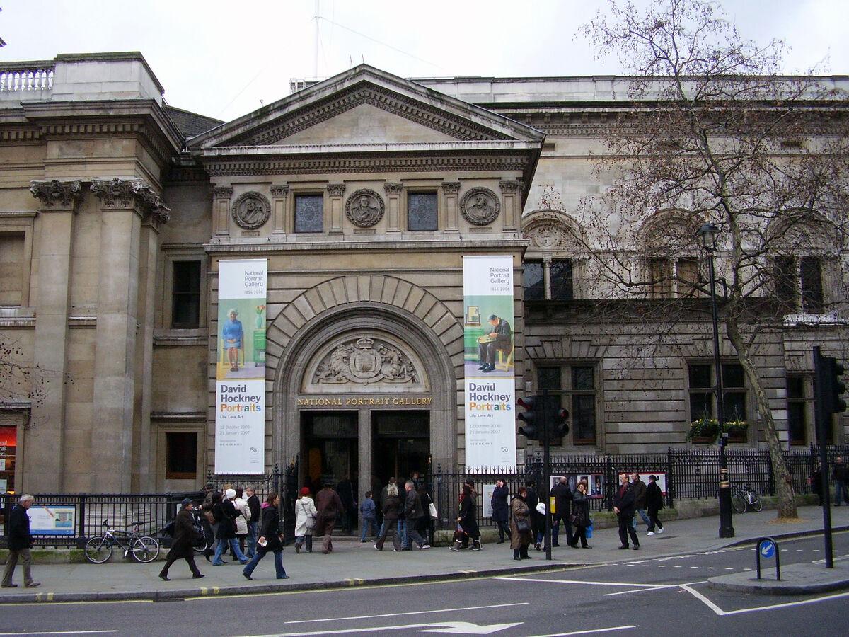 La Galería Nacional de Retratos, Londres.  Imagen vía Wikimedia Commons.