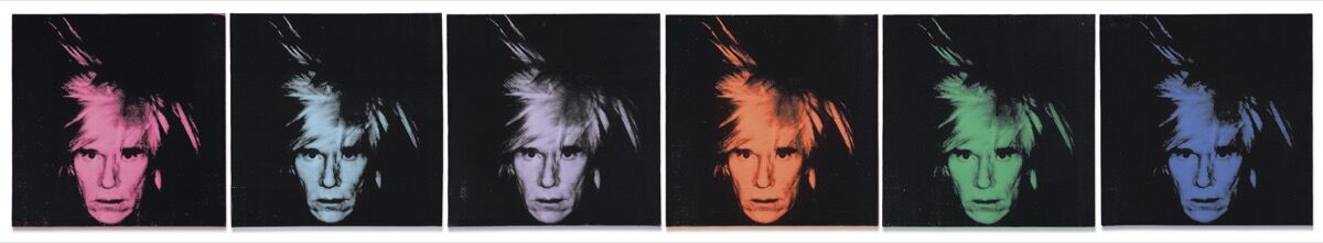 Andy Warhol, Six Self Portraits, 1986. © Christie's Images Limited 2018.