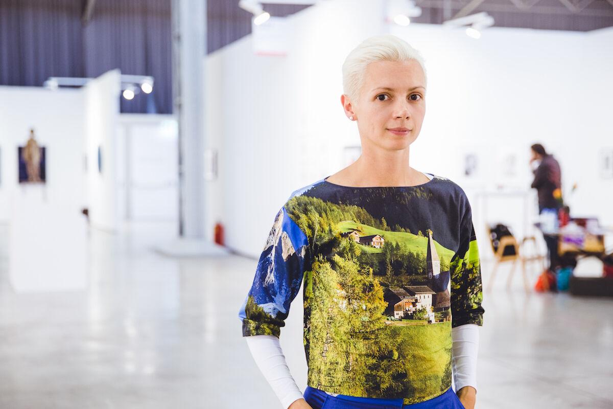 Christina Steinbrecher-Pfandt. Photo © Kristina Kulakova, courtesy viennacontemporary.