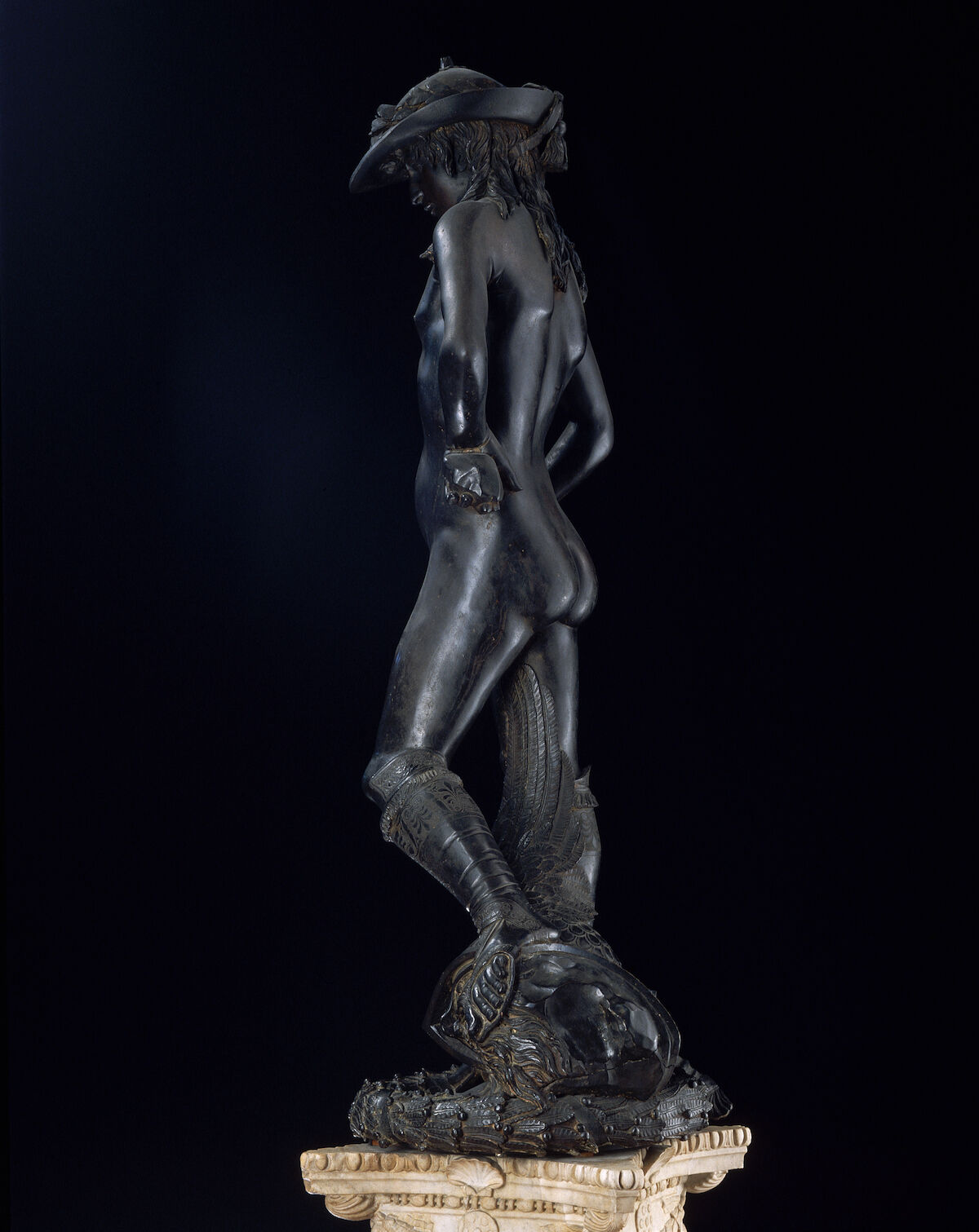 Donatello, David, 1428–1432. Photo © Arte & Immagini srl/CORBIS/Corbis via Getty Images.