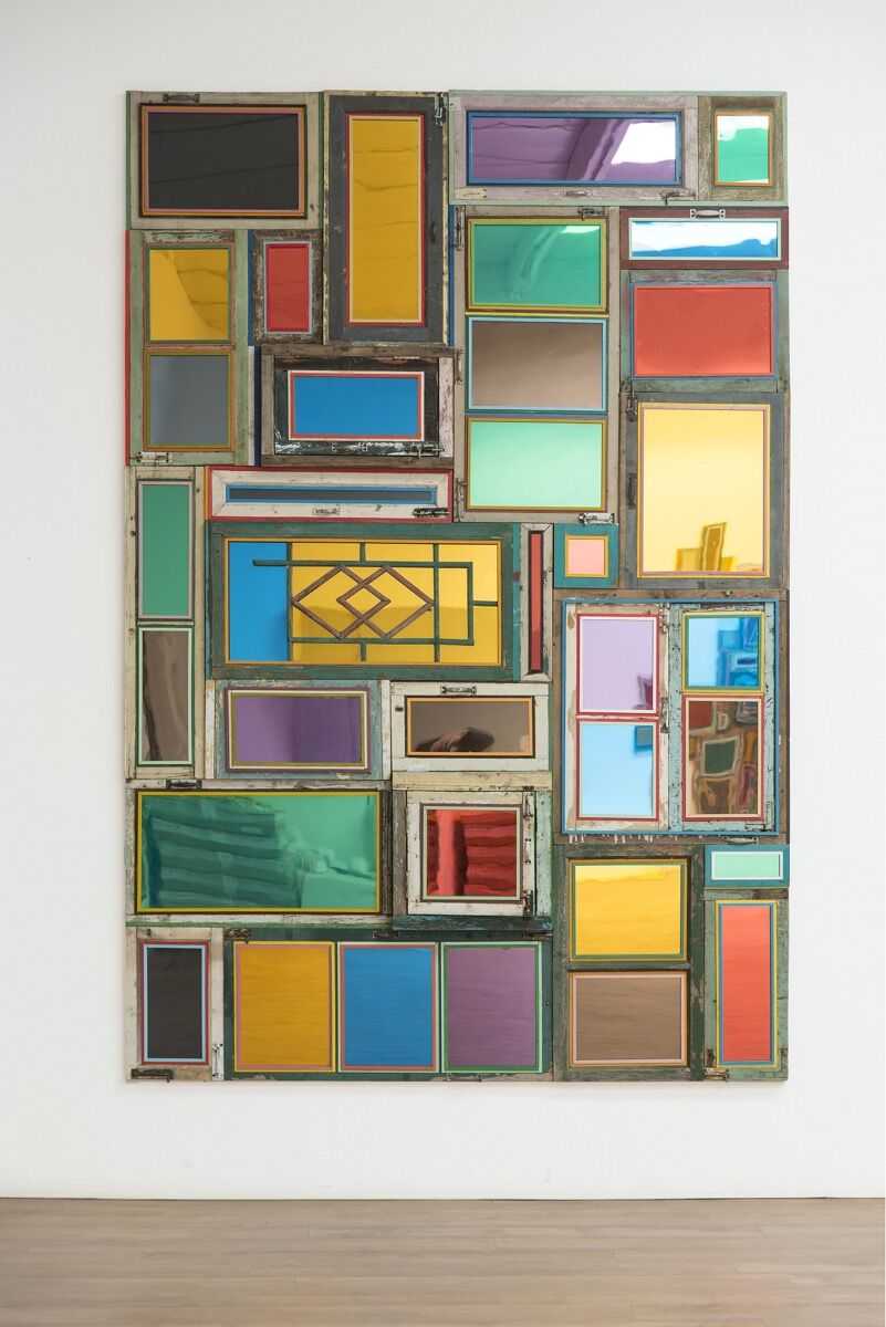 Song Dong, Usefulness of Uselessness – Varied Window No. 6, 2017. Courtesy of Pace Gallery.