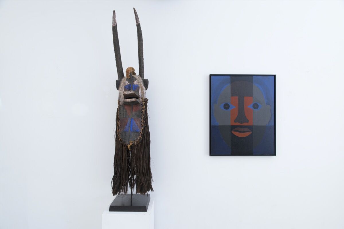 Installation view of ACA Galleries's booth at Frieze London 2020. Courtesy of ACA Galleries.