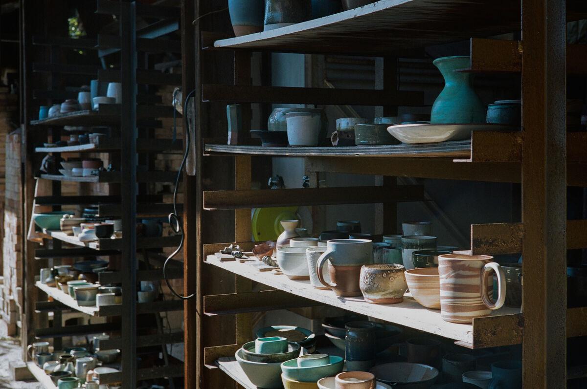 Student work at Pottery Northwest, Seattle, WA. Courtesy of Pottery Northwest.