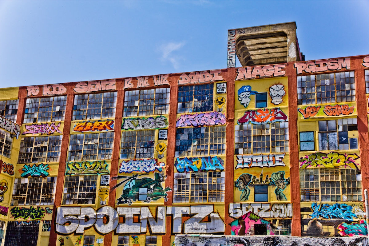The 5Pointz complex in 2011. Photo by Pelle Sten, via Flick.