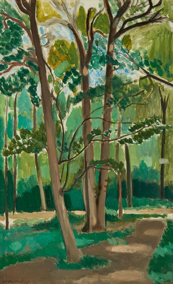 Henri Matisse, Le Carrefour de Malabry, 1918–19. Courtesy of Sotheby's.