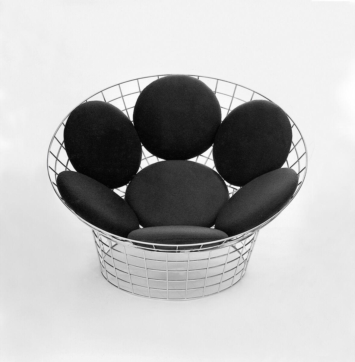 Verner Panton, The Peacock chair, 1960. © Panton Design, Basel. Courtesy of Phaidon.