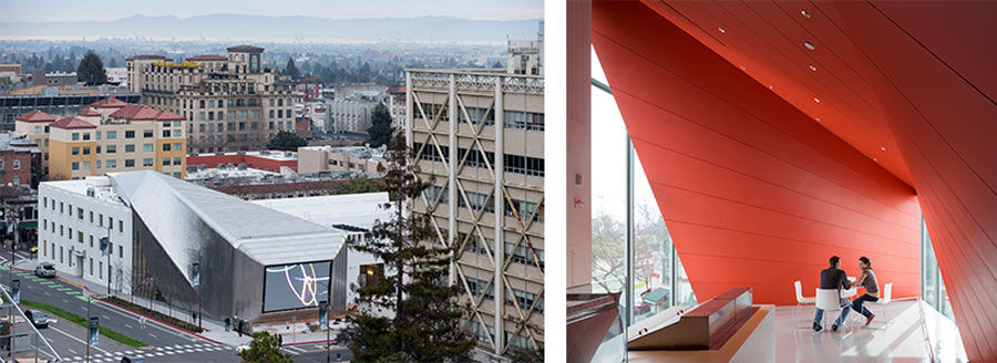 Diller Scofidio + Renfro, UC Berkeley Art Museum and Pacific Film Archive, 2016. Photo by Iwan Baan. Courtesy of Diller Scofidio + Renfro; EHDD; and UC Berkeley Art Museum and Pacific Film Archive (BAMPFA).