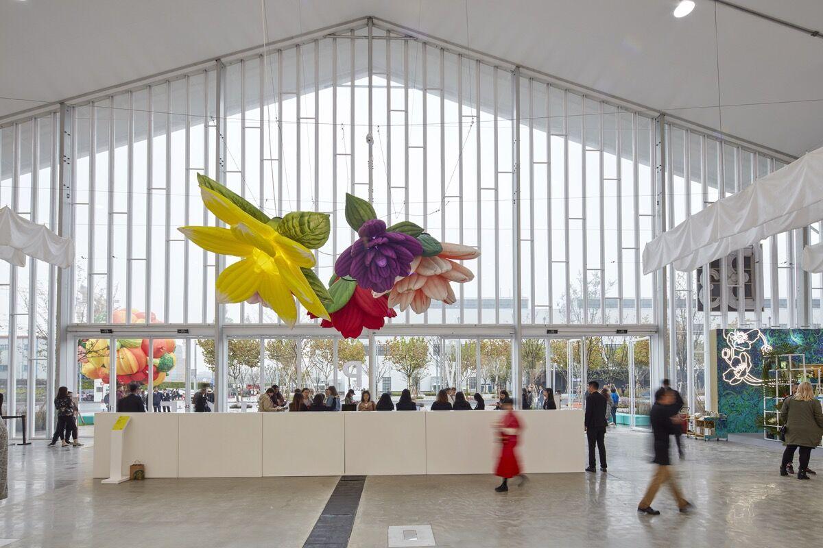 Installation view of West Bund Art & Design, 2018. Courtesy of West Bund Art & Design.