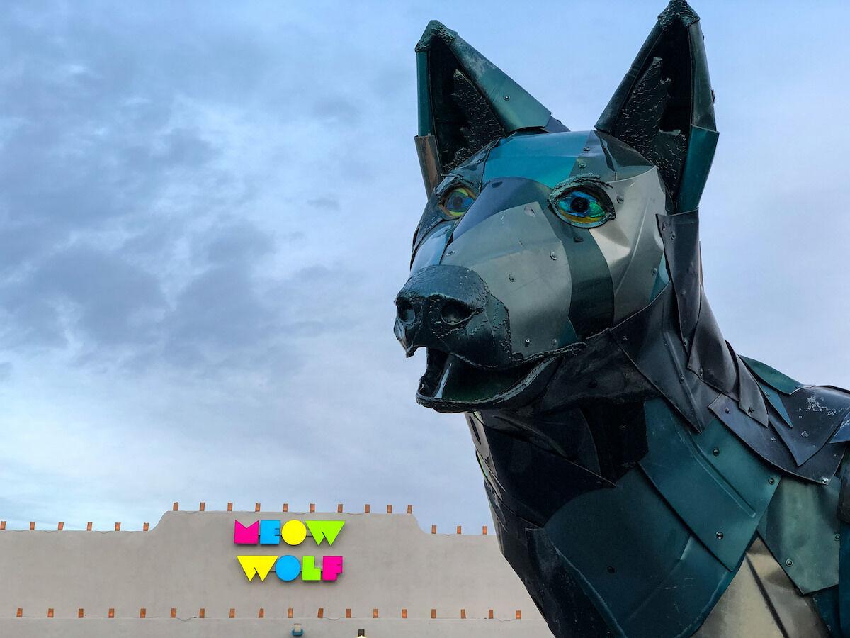 Meow Wolf in Santa Fe, New Mexico. Photo by Sean Davis, via Flickr.