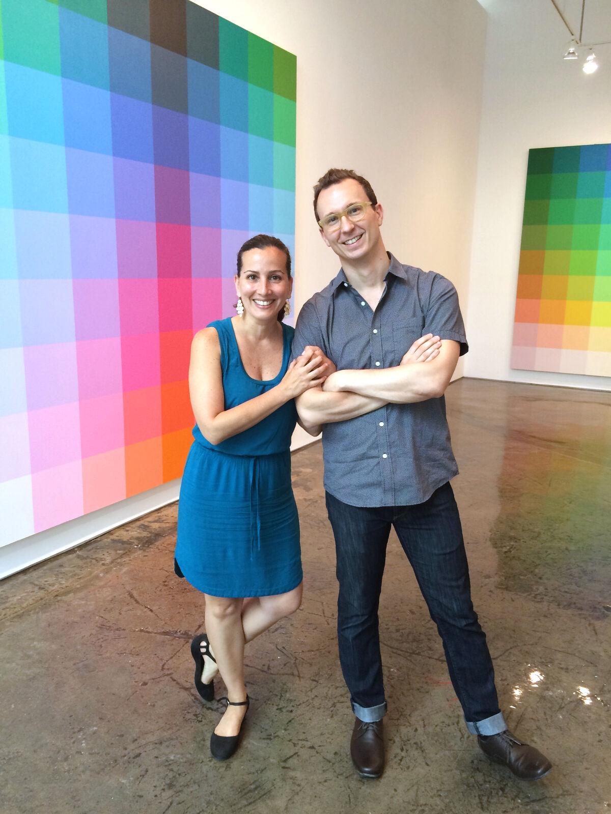 Rossana Martinez and Matthew Deleget. Courtesy MINUS SPACE.