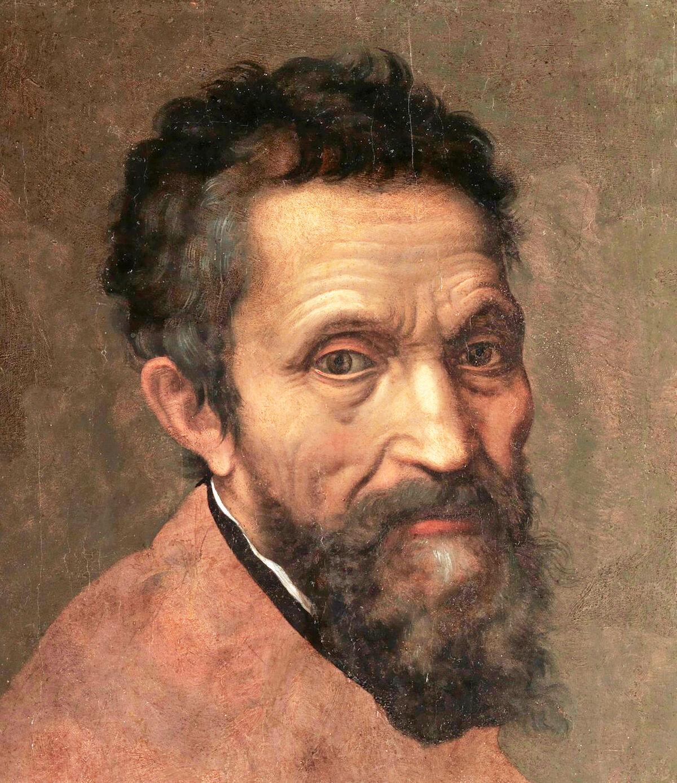 Detail from Daniele da Volterra, Michelangelo, ca. 1544. Metropolitan Museum of Art, via Wikimedia Commons.