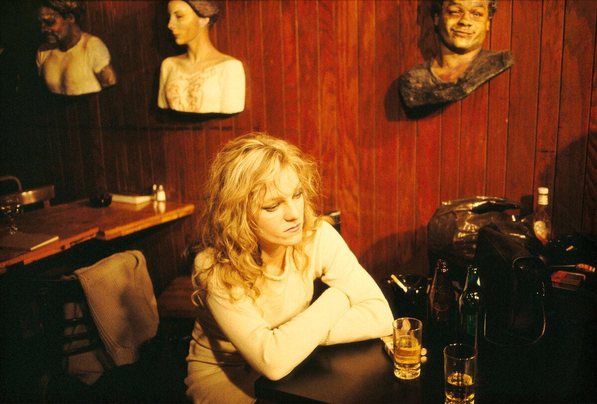 Nan Goldin, Cookie at Tin Pan Alley, NYC, 1983. © Nan Goldin. Courtesy of Matthew Marks Gallery.