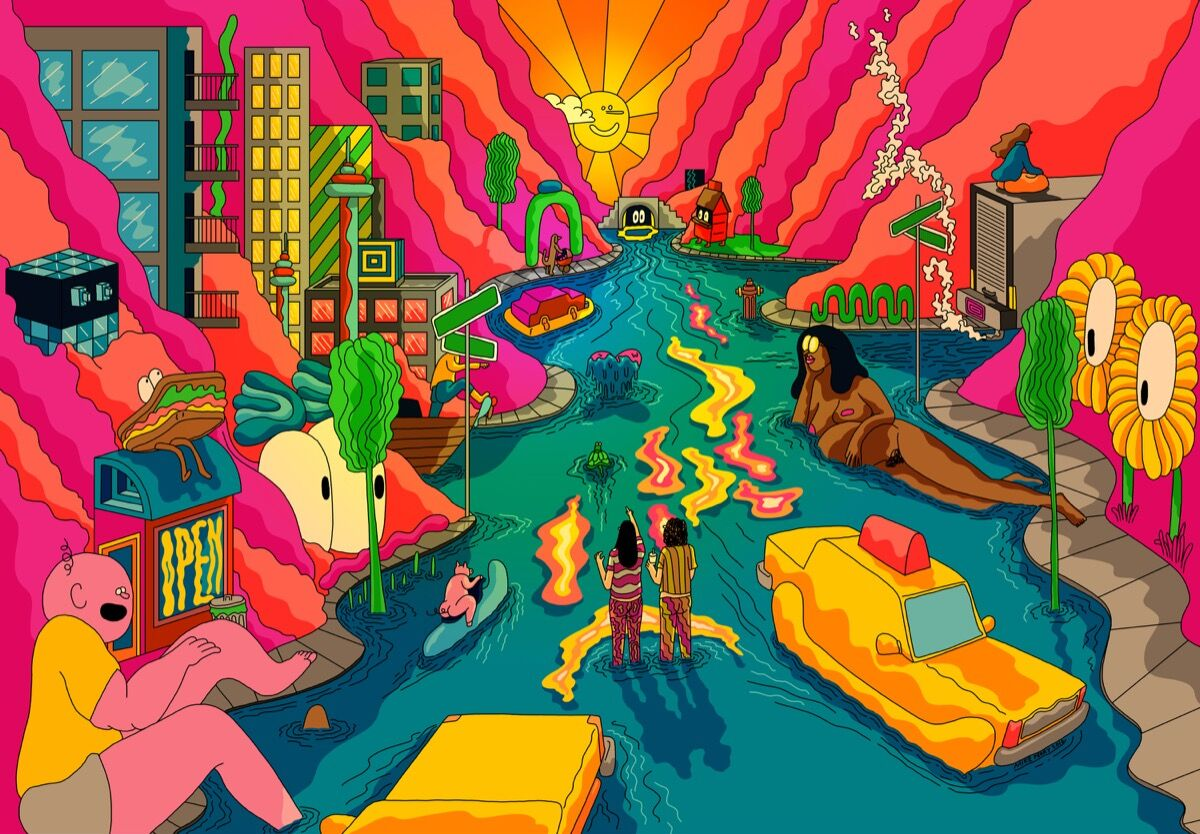 How Mike Perry Turned Broad City Into A Cartoon Artsy