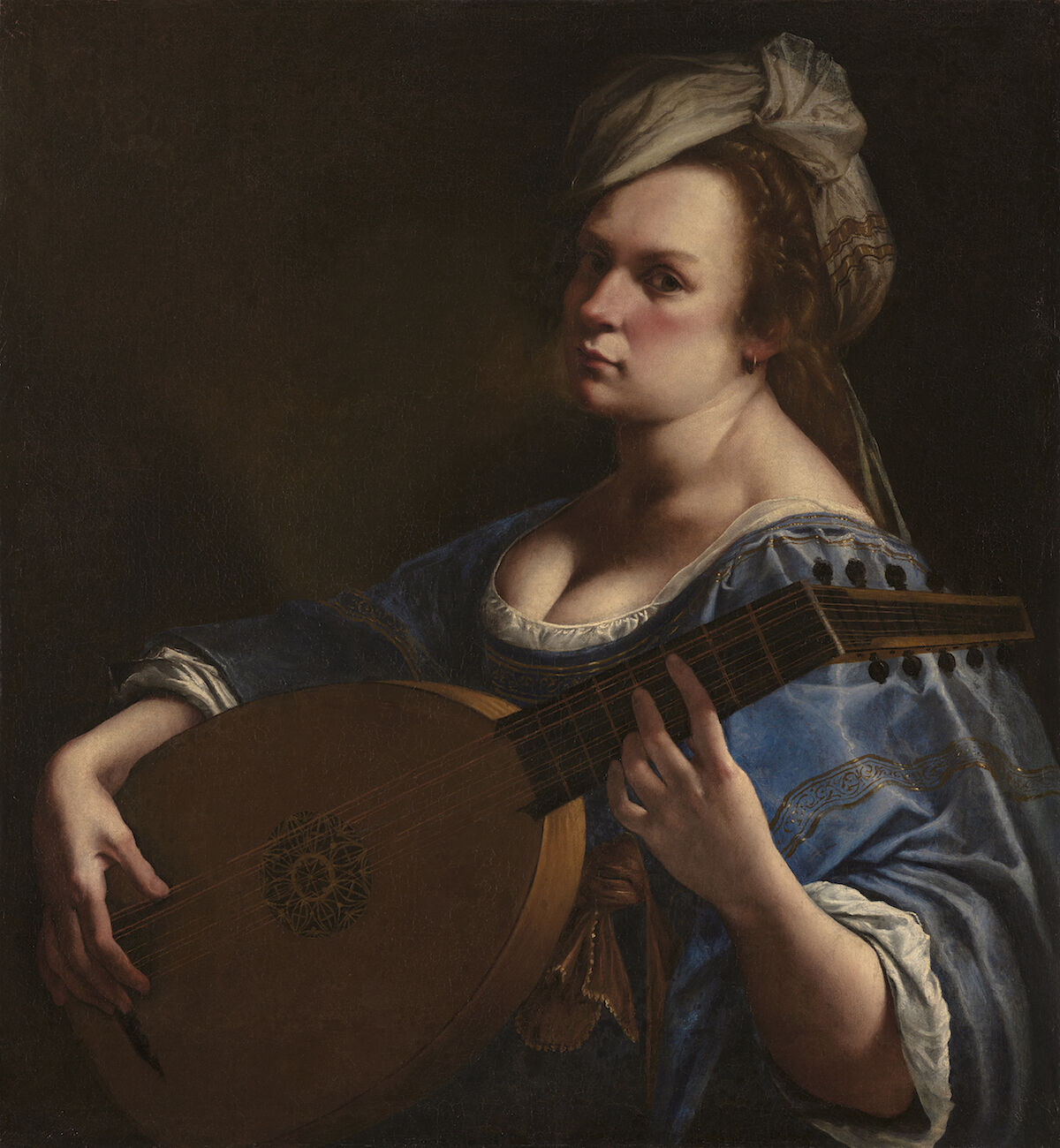 Artemisia Gentileschi, Self Portrait as a Lute Player, ca. 1615–18. Wadsworth Atheneum Museum of Art, Hartford, Connecticut. © Wadsworth Atheneum Museum of Art, Hartford, Connecticut.
