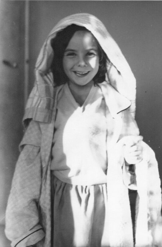 Sophie as a young child. Photo by Bob Calle. Courtesy of the artist.