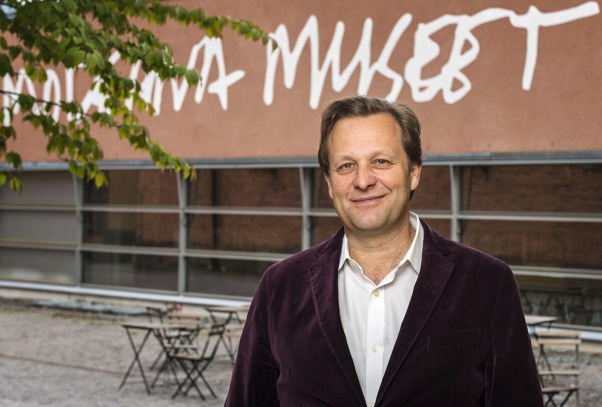 Portrait of Daniel Birnbaum at the Moderna Museet by Åsa Lundén. Courtesy of Moderna Museet.