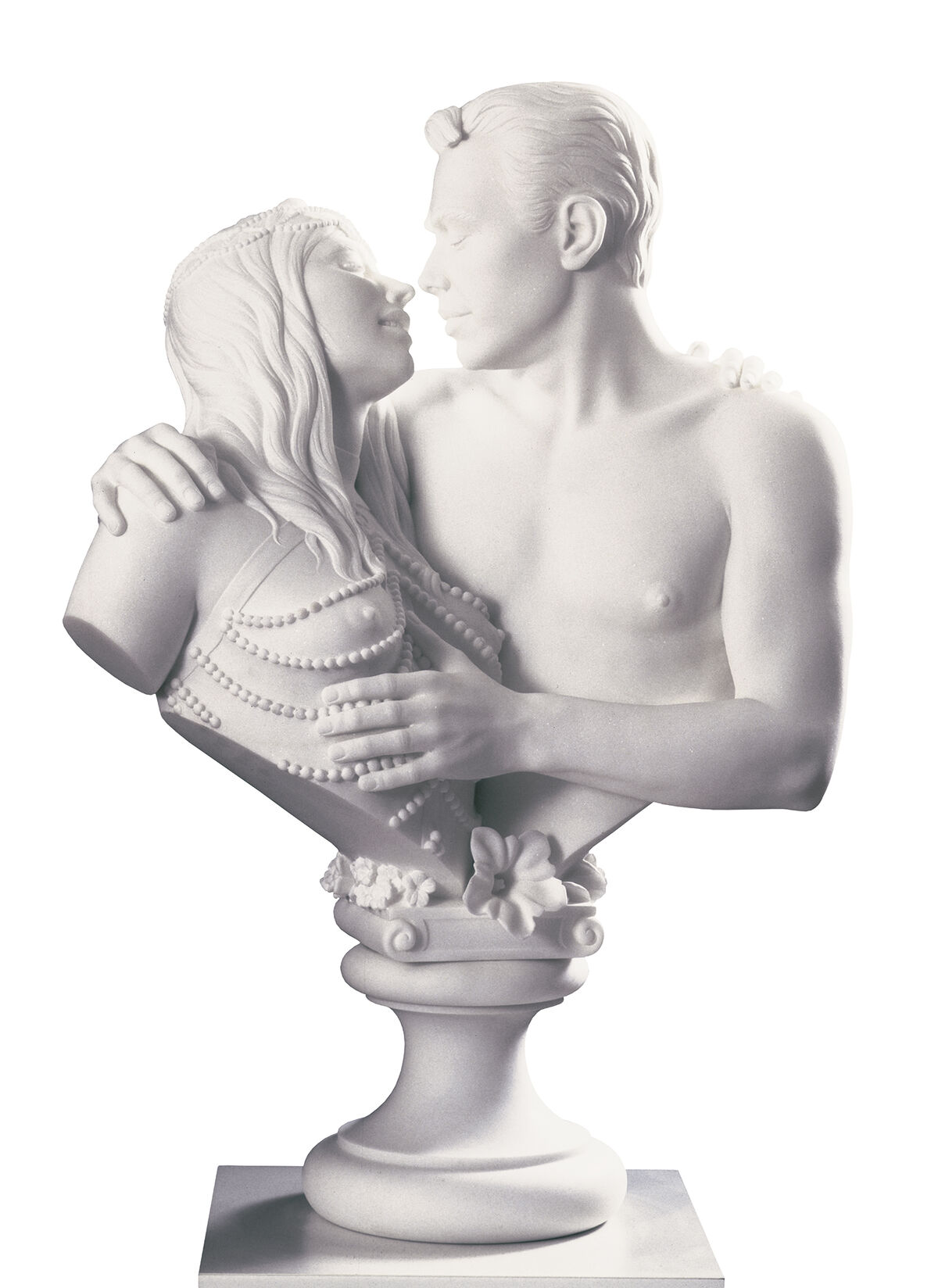 Jeff Koons, Bourgeois Bust—Jeff and Ilona, 1991. © Jeff Koons. Photo by Jim Strong, New York. Courtesy of the Pinault Collection and Museo Jumex.
