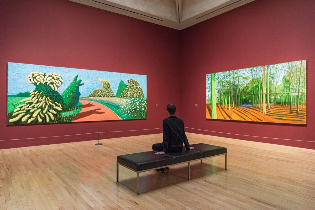 Artworks © David Hockney. Photo: Tate Photography. Courtesy of Tate.