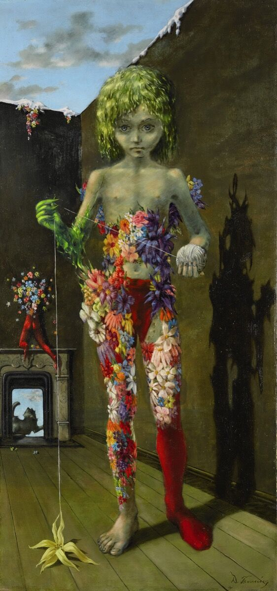 Dorothea Tanning, The Magic Flower Game, 1941. Courtesy of Sotheby's.