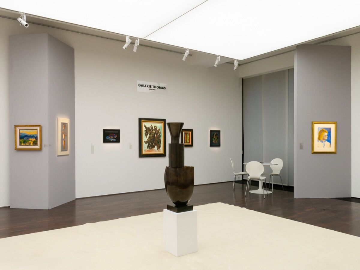Installation view at Galerie Thomas, 2020. Courtesy of Galerie Thomas, Munich.