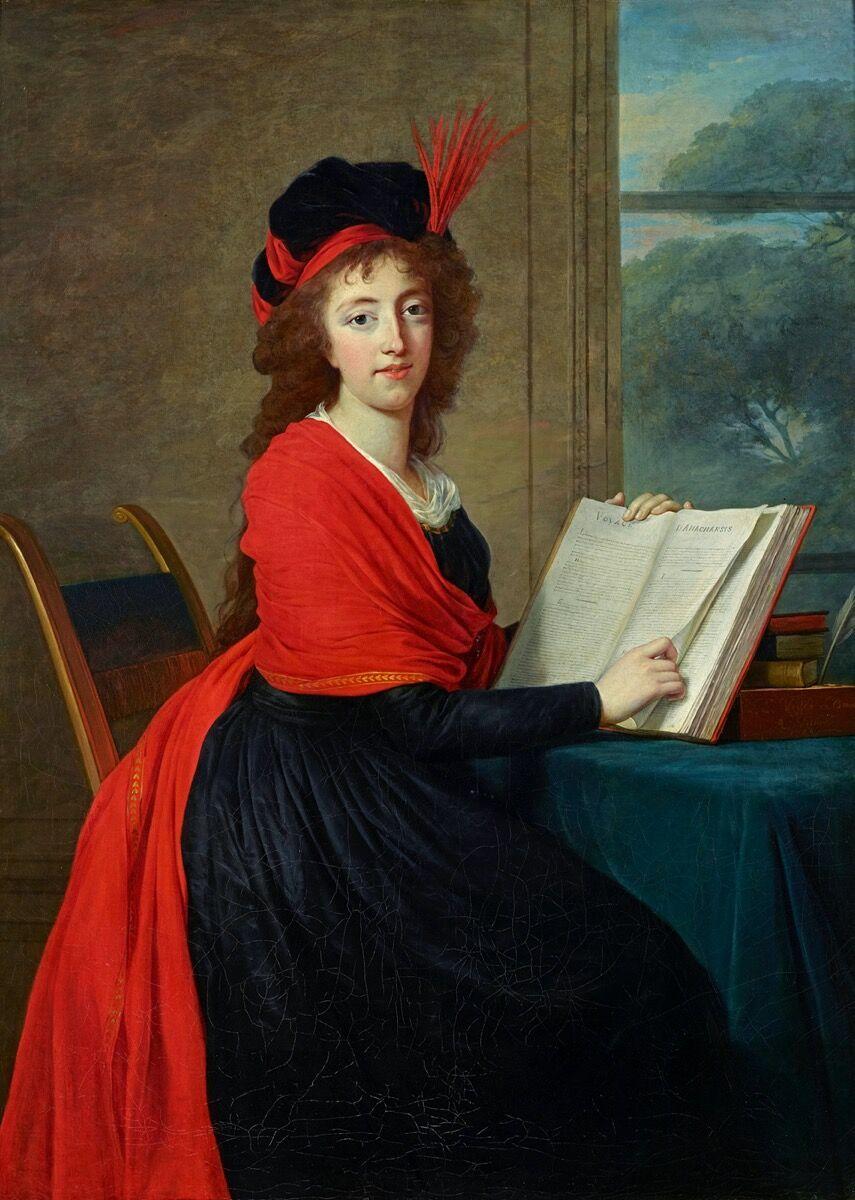 Elisabeth Louise Vigée le Brun, Portrait of Countess Maria Theresia Czernin, 1793. Courtesy of Brooklyn Museum.