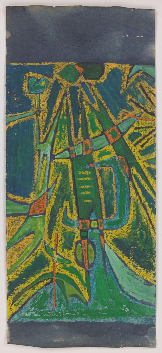 Luchita Hurtado, Untitled, 1949. Courtesy of Hauser & Wirth.