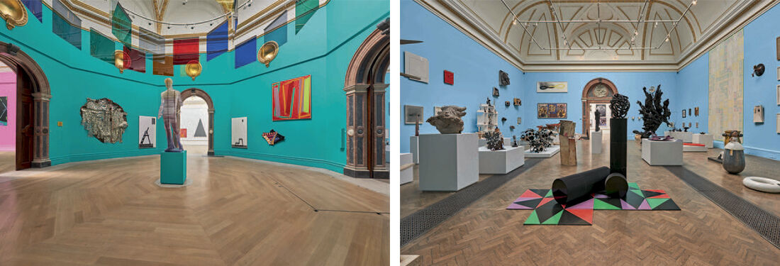 """Installation view of""""Summer Exhibition 2015"""" courtesy the Royal Academy of Arts."""
