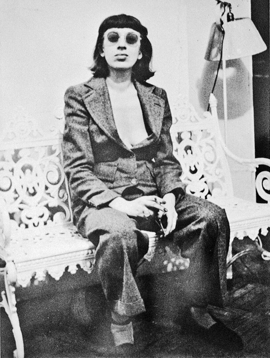 Lee Krasner, c. 1938. Unknown photographer.