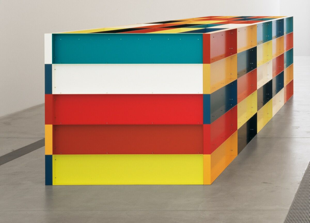 Donald Judd, Untitled, 1989. Donald Judd Art © Judd Foundation / Artists Rights Society (ARS), New York Photograph by Florian Holzher.
