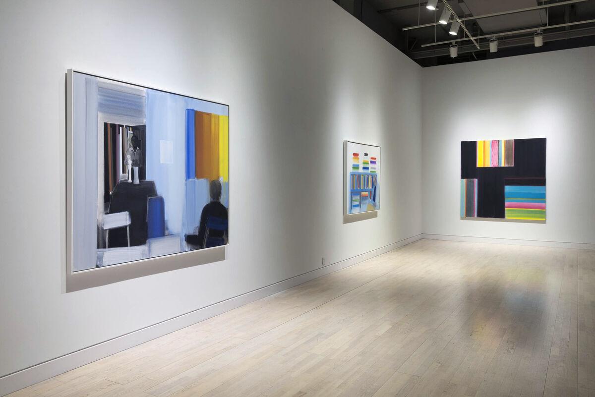 Installation view of Elizabeth Osborne at Locks Gallery, Philadelphia. Courtesy Locks Gallery and the artist