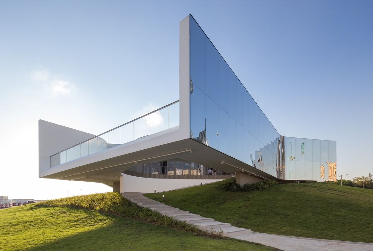 M+ Pavilion. Photo courtesy of West Kowloon Cultural District Authority and M+, Hong Kong.
