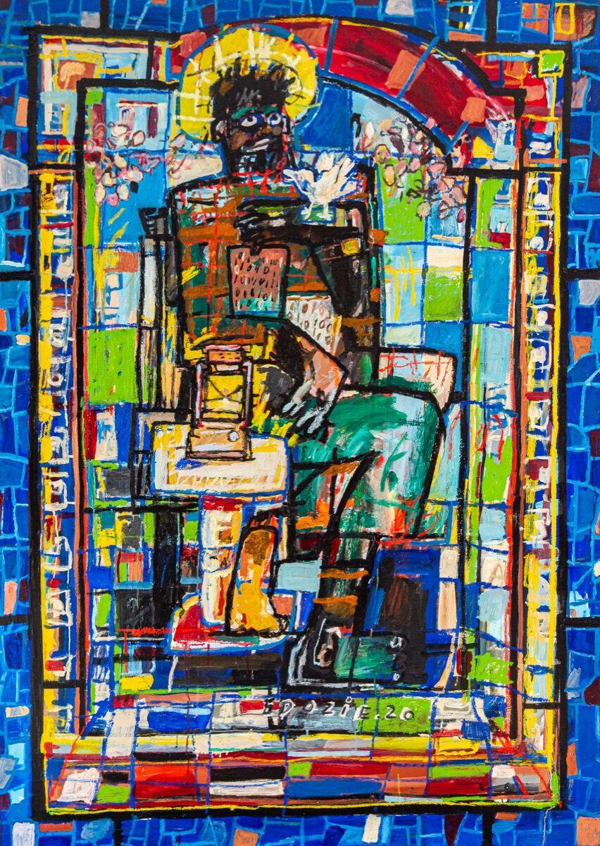Edozie Anedu, Just Like Moses, 2020. Courtesy of the artist and Unit London.