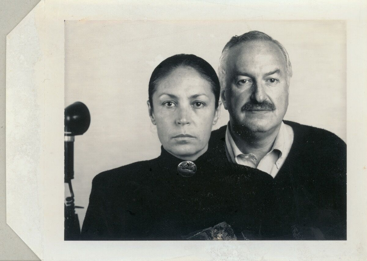 Polaroid for portraits of Mera and Don Rubell by Thomas Ruff, 1988. Courtesy of the Rubell Museum, Miami.