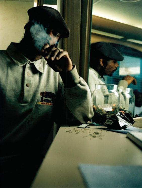 "Brian ""B+"" Cross, Snoop Dogg, Los Angeles, 1997. Image courtesy of the artist."