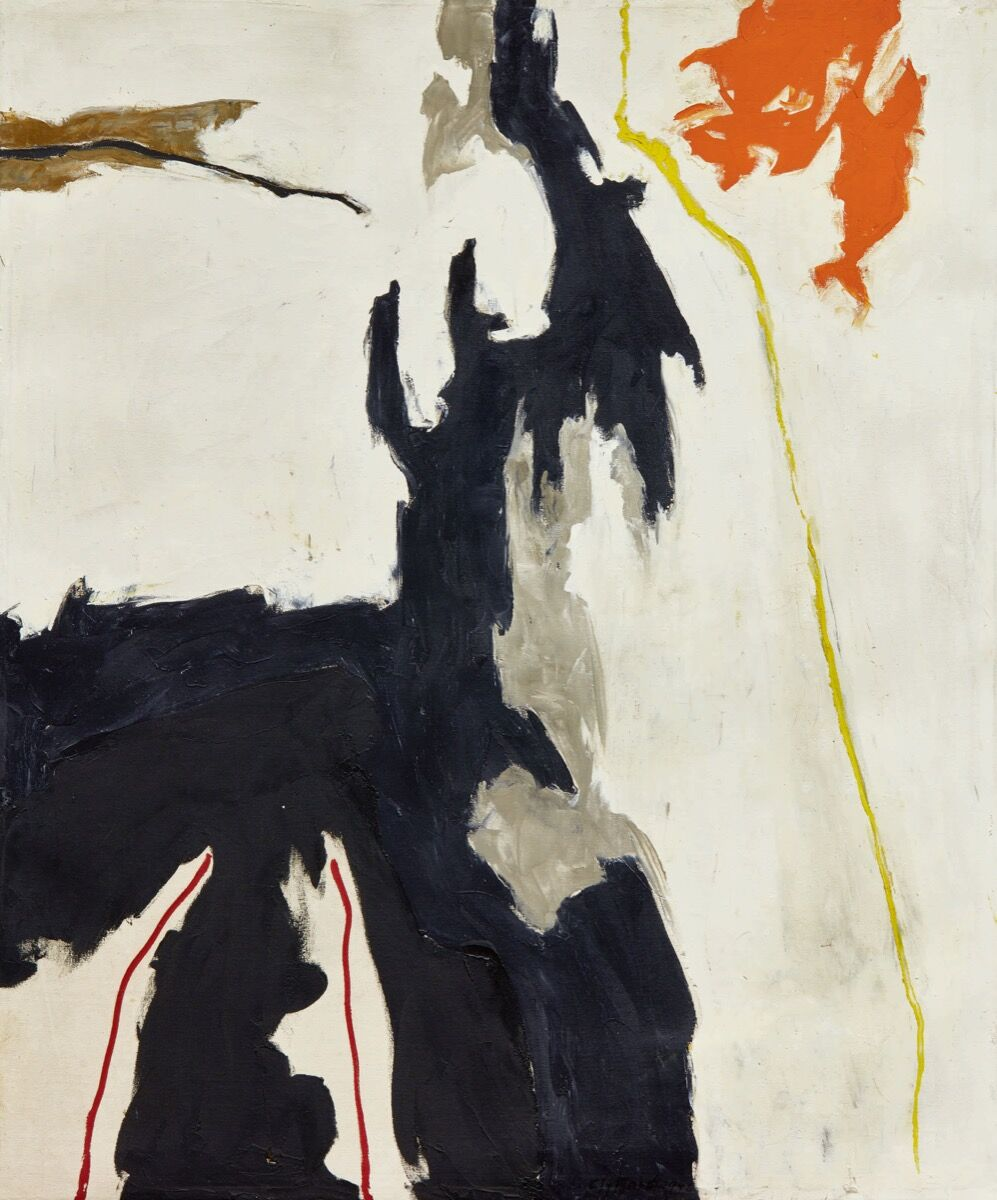 Clyfford Still, 1949-A-No. 1, signed and dated Clyfford 49. Courtesy of Sotheby's.