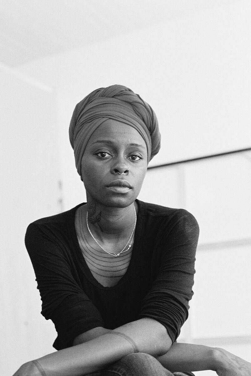 Portrait of Toyin Ojih Odutola by Beth Wilkinson. Courtesy of the artist.