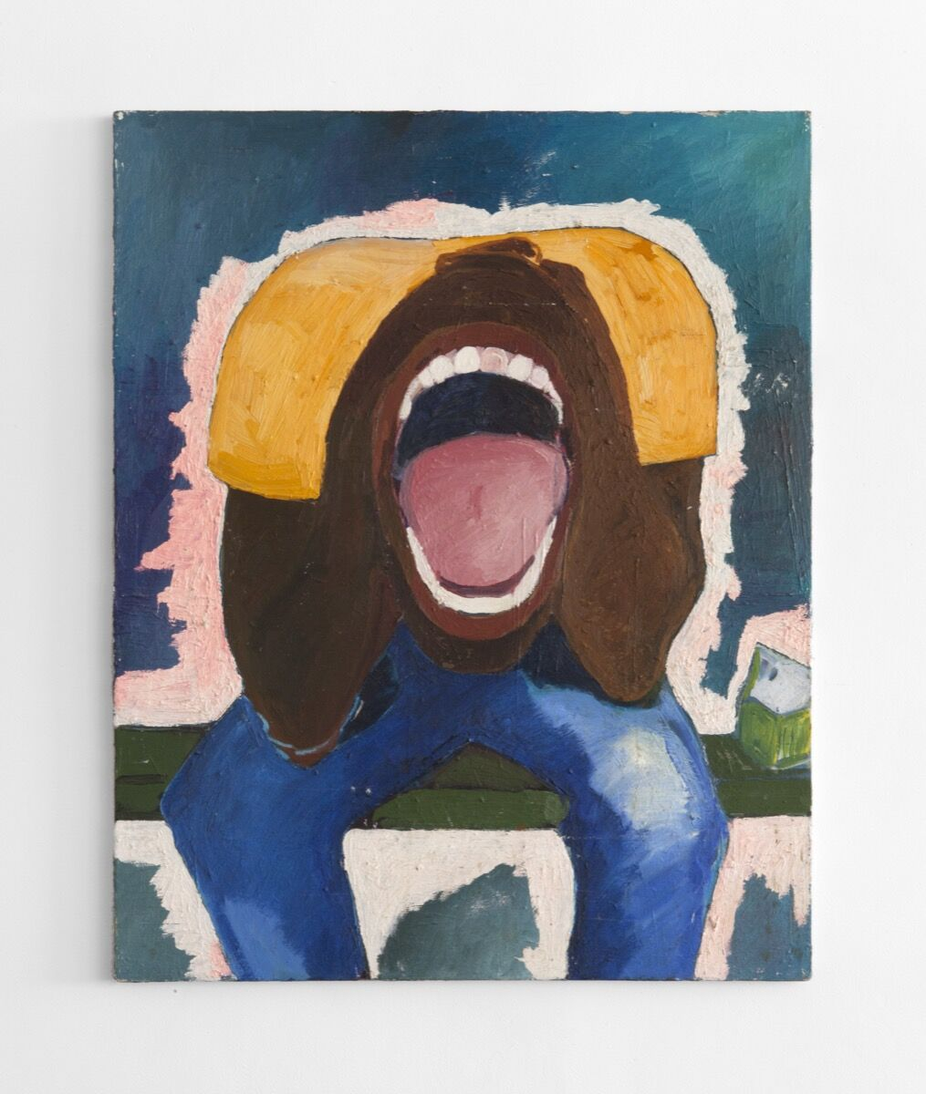 Henry Taylor, Screaming Head, 1990. © Henry Taylor. Courtesy of the artist and Blum & Poe, Los Angeles/New York/Tokyo.